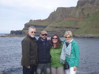 Our wonderful Irish Cousins, Jarlath and Maura