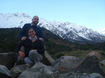 Jenny and Bobby - Mt. Cook