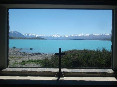 Church of the Good Shepard.  Lake Tekapo