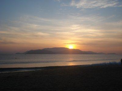 Sunrise in Nha Trang
