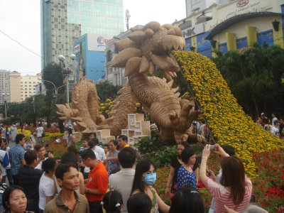 Year of the Dragon Flower Celebration in Ho Chi Minh City