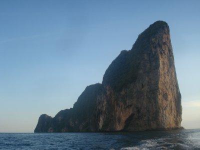 Limestone karst, Maya Bay, Thailand
