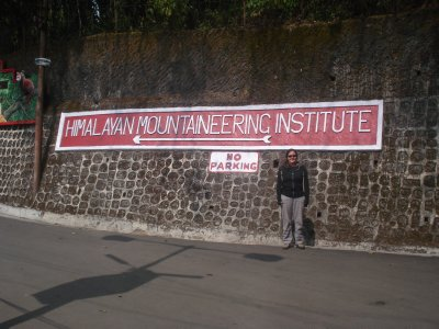 About to check out the Himalayan Zoo/Mountaineering Institue in Darjeeling