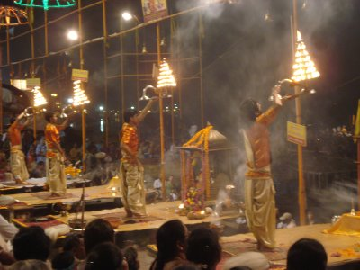 Ceremony at Dasashwamedha Ghat