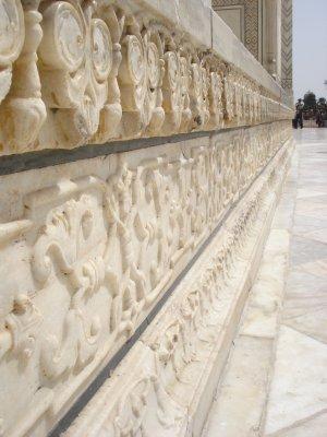 Close-up of craftsmanship