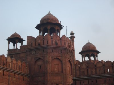 Tower at the Red Fort