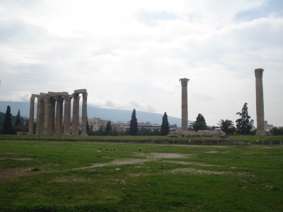 Remains of the Temple of Zeus