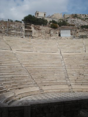 Theater at the Acropolis, made famous by Yanni recording an album here.