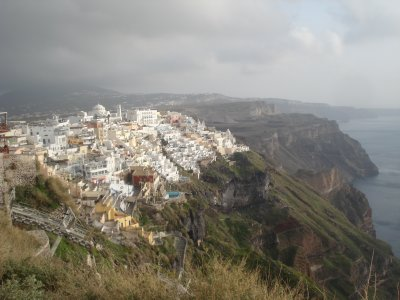 Thira, Santorini Island, Greece