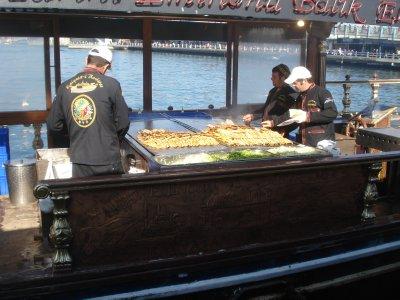 Floating Fish Market, Istanbul