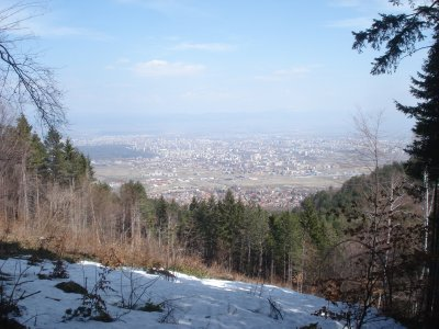 View of Sofia from Mt. Vitosha