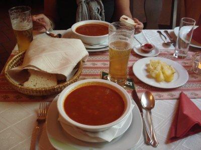 Tasty Goulash Soup!