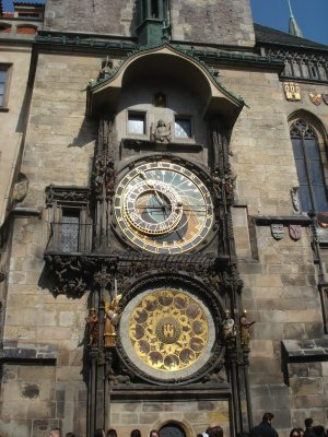 The Prague Astronomical Clock.  First installed in the year 1410.  Seems to be working just fine; they don't make 'em like they used to.