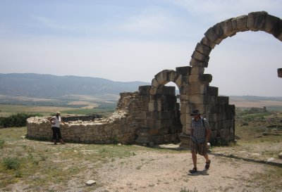 Hangin' at the Tangier Gate, Volubilis, Morocco