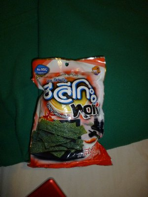 Seaweed crisps