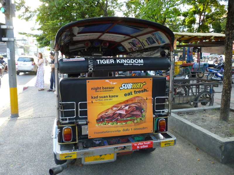 Subway tuk tuk
