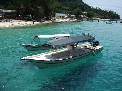 Water Taxis, Perhentian Island, Malaysia