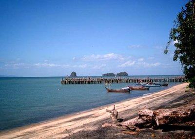 Pantai Pasir Hitam (Black Sand Beach), Langkawi, Malaysia