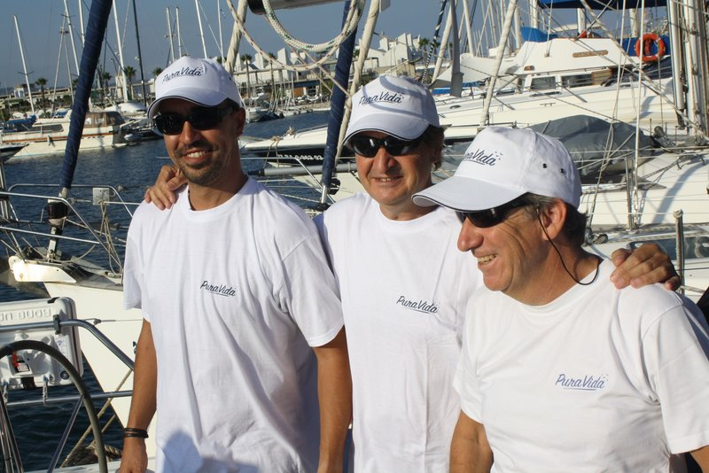 Alfredo, Pepelu y Antonio