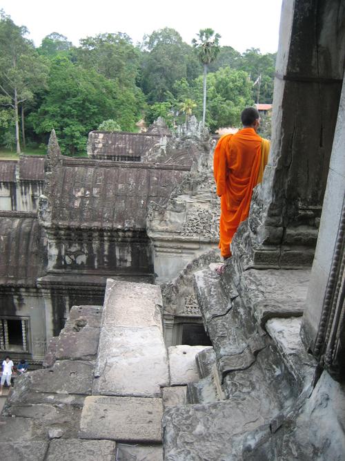 Monk | Angkor Wat Temple