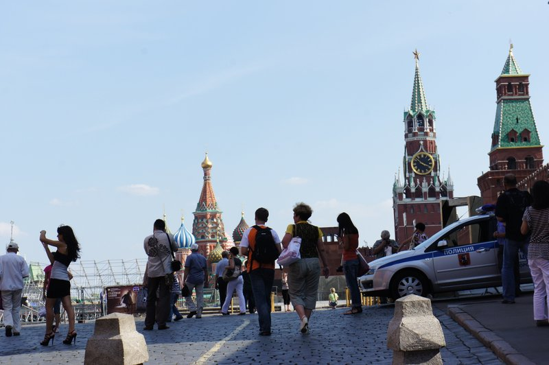 Red Square and Stillettos