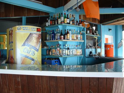 Sunrise Beach Bar, Nevis, West Indies