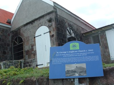 St. George's Anglican Church, circa 1842, Nevis, West Indies, May 2011 (2)