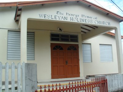 Wesleyan Holiness Church, Nevis, West Indies May 2011