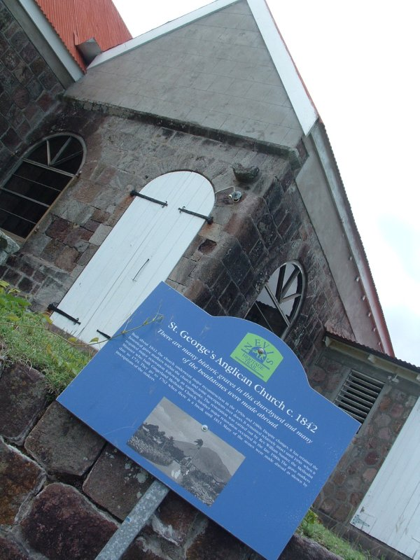 St. George's Anglican Church, circa 1842, Nevis, West Indies, May 2011 (1)