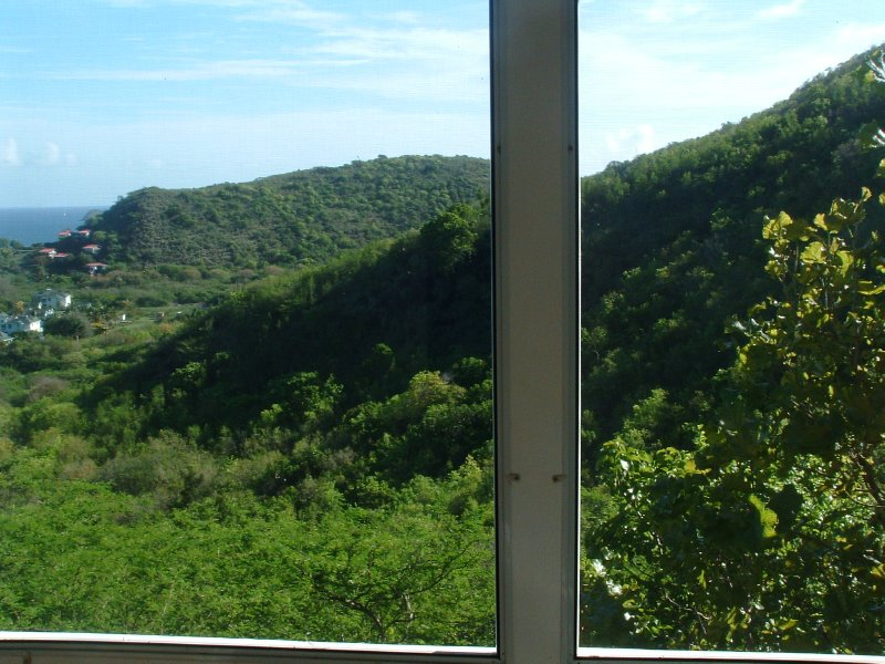 Views from Round Hill Cottage, Overlooking Oualie Bay, Nevis, West Indies (2)