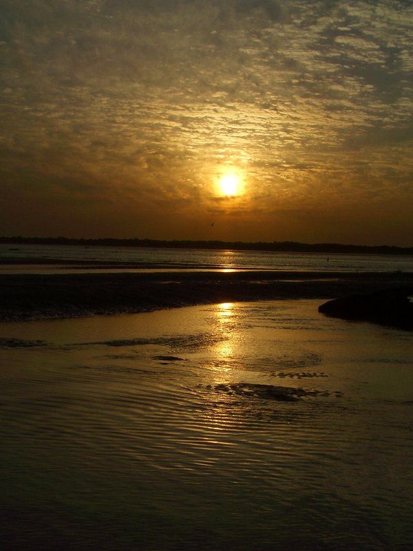 Sunset from the mud flats of Roebuck Bay, Broome, Western Australia