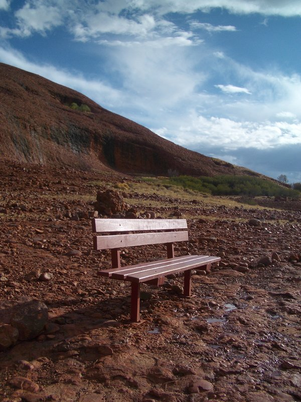 "Take a seat at the ""Red Centre"""