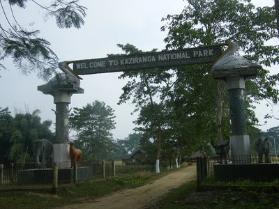 Entrance to East Section - Kaziranga National Park