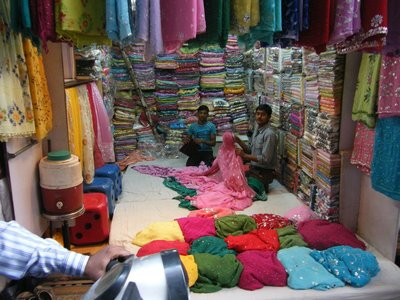 Fabric Shop in Chandni Chowk - Old Delhi