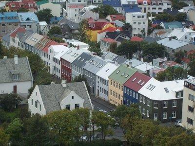 Colourful city