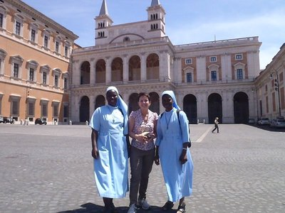 2 things not in Mandy's favour in joining the good nuns of west africa.....won't go into that in this forum.