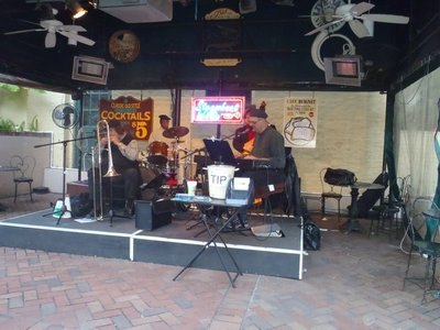 Cafe Jazz, Beer and Grits
