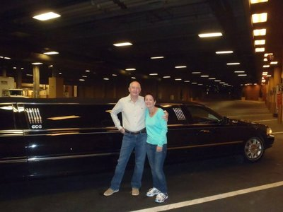 The black limo Vegas Style