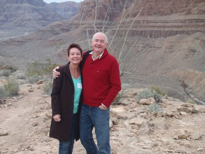 The Holmes's in the Grand Canyon