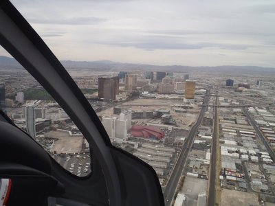 The strip from 3,000 feet