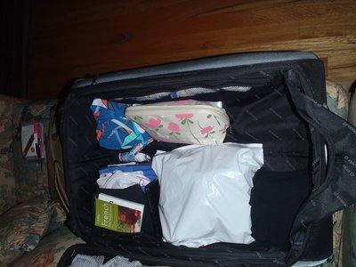 Mandy's Bag Half Way Packed