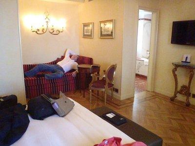 Penthouse Room villa duse