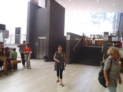 Entering the Vatican Museum's