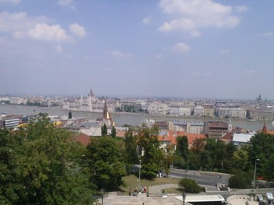 Budapest from the Buda side