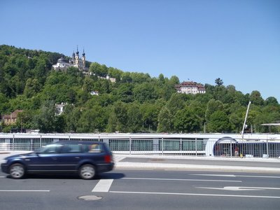 Avalon Panorama in the foreground of Wuerzburg