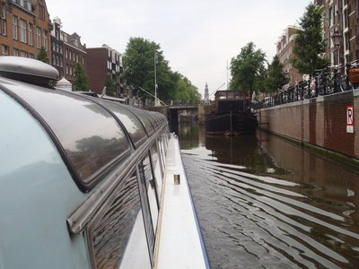 Canals by the hundreds, nearly as many as there are bloody bikes.