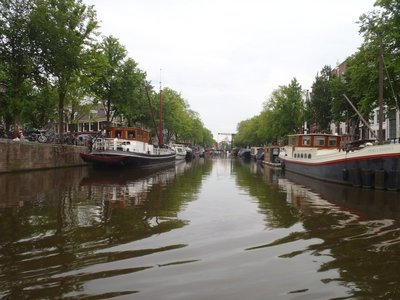 Canals and boats. Dirty and smelly for sure. Wouldn't want to fall in.