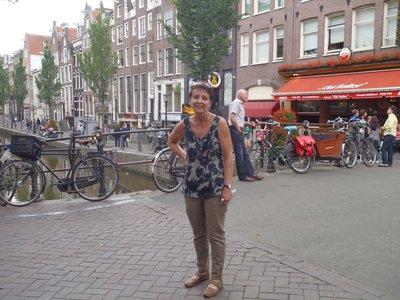 Mandy at Anne Franks Haus and Museum