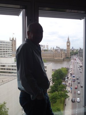 Big Tony overlooking Big Ben