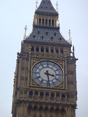 Big Ben is the largest free standing clock in europe